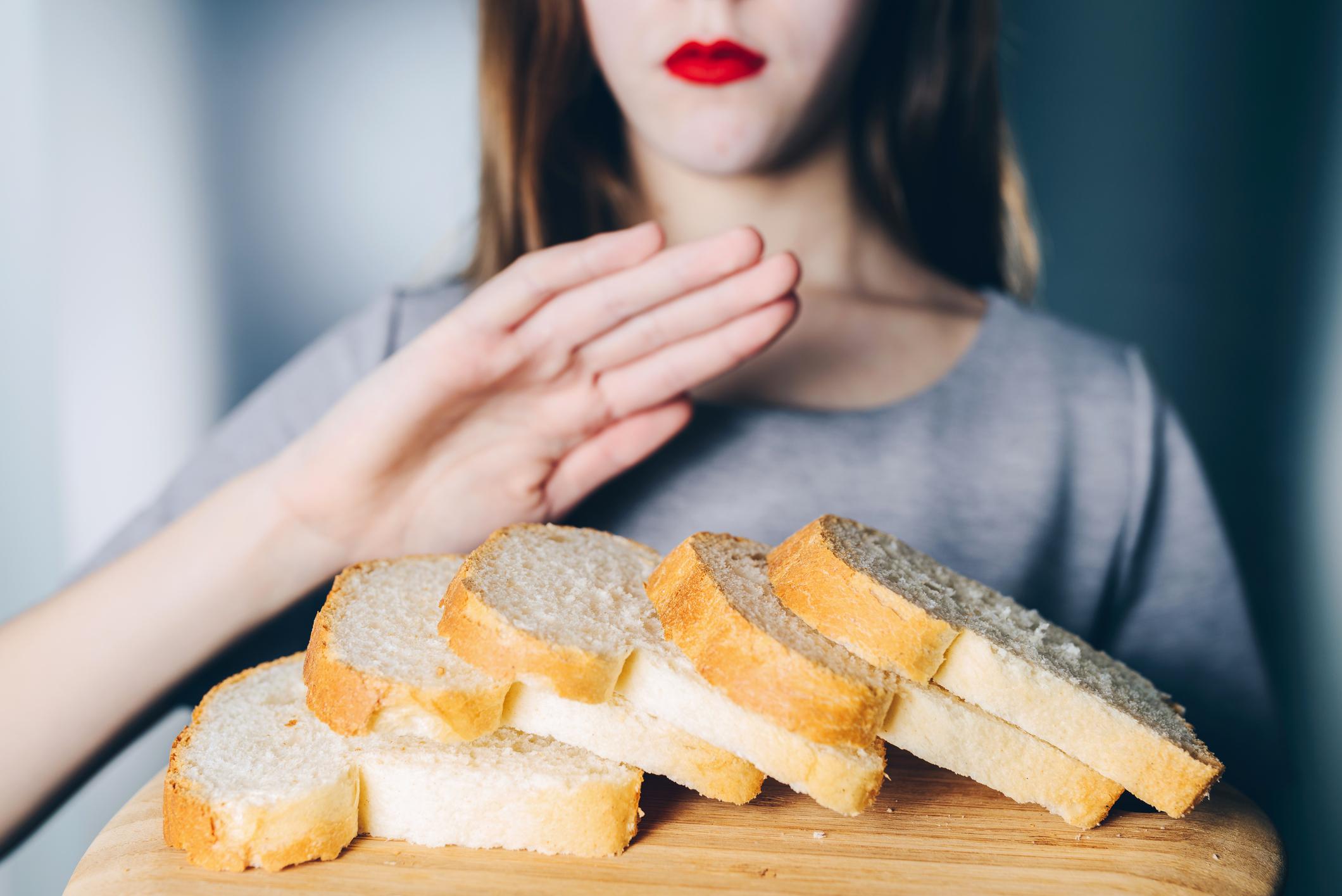 allergisk mot gluten